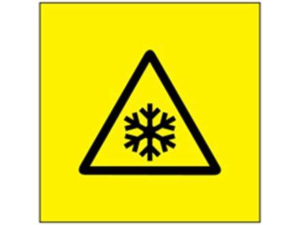 Low temperature symbol labels. | EL370 | Label Source