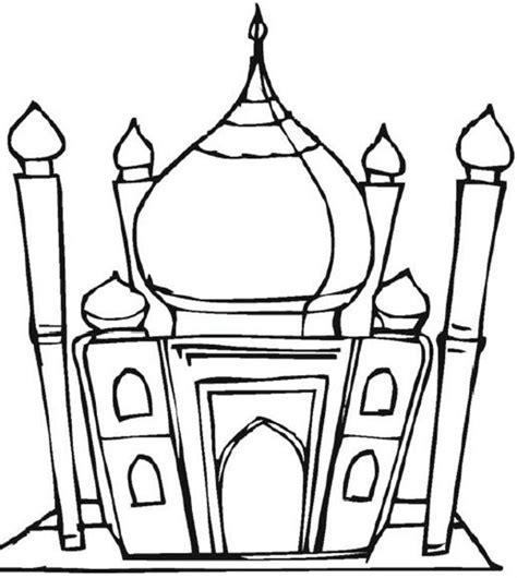 Moskee Kleurplaat by Ali S Kleine Vriend