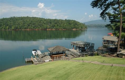 beautiful water front house  lake james vrbo