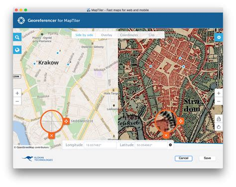 features of maptiler create map overlay gis layers and