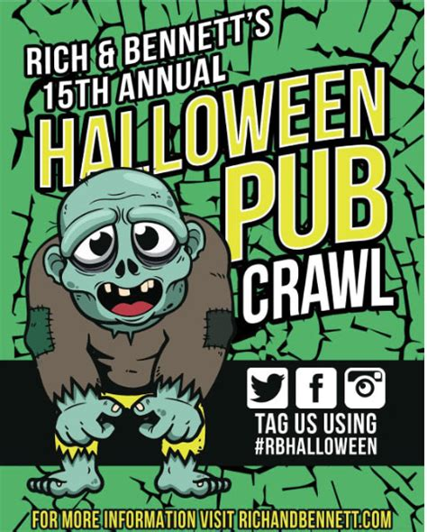 Rich And Bennetts Halloween Pub Crawl by Meet The Men Behind The Charlotte Bar Crawl Scene