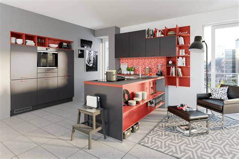 Küche Wandfarbe Rot by Ideen F 252 R Die K 252 Chen Farbgestaltung 11 Bilder