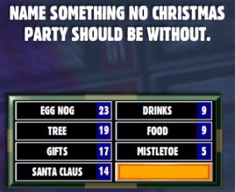 a game of friendly family feud christmas pinterest