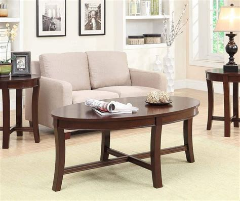Coffee table sets are an easy way to create a matching look. Espresso Wood 3-Piece Occasional Table Set   Coffee, end tables, Table, Furniture