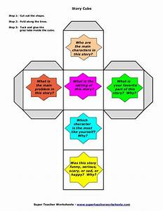 story elements cube template pictures to pin on pinterest With story cube template