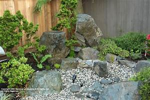 Miniature asian rock garden pictures