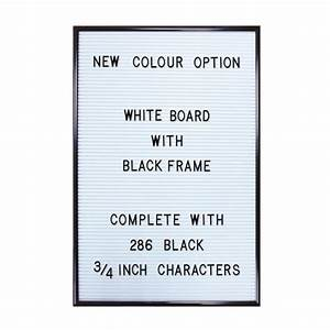 jay white letter board with 286 letters numbers With message board letters and numbers