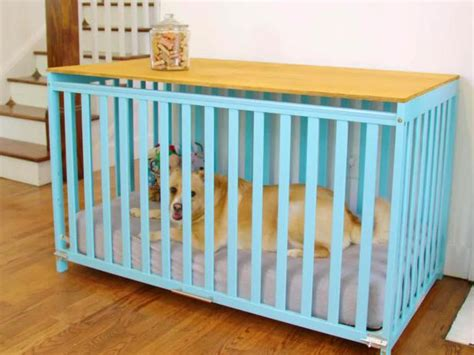 upcycle  crib   dog crate  tos diy
