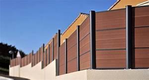 Bois Composite Cloture : cl ture en bois composite montr al piveteau bois ~ Edinachiropracticcenter.com Idées de Décoration
