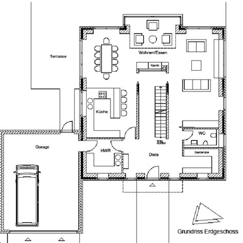 Grundriss Treppe Mittig by Einfamilienhaus An Den Grachten In Schwerte Dai Verband