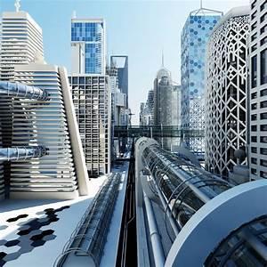 max future futuristic architectural
