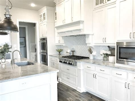 white and grey kitchen designs beautiful homes of instagram home bunch interior design 1742