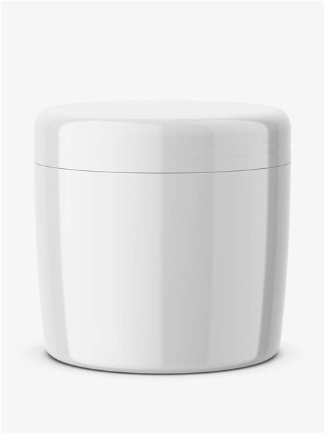 The mockups are available in well layered psd file formats and as such is very easy to customize. Cosmetic cream jar mockup / glossy - Smarty Mockups
