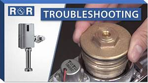 Troubleshooting A Toto Ecopower Flushometer  Pre