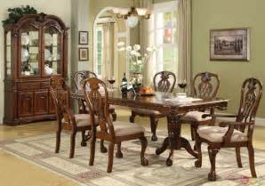 7 dining room sets brussels traditional dining room set 7 set