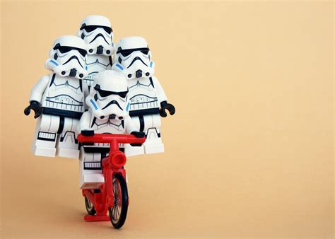 Storm Trooper Wallpaper Hd Four Stormtroopers Balanced On A Bike 4k Ultra Hd Wallpaper And Background Image 4382x3127