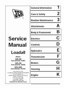 Download Jcb Loadall 520  525 S Service Manual Pdf