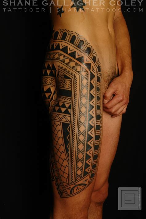shane tattoos filipino leg tattoo