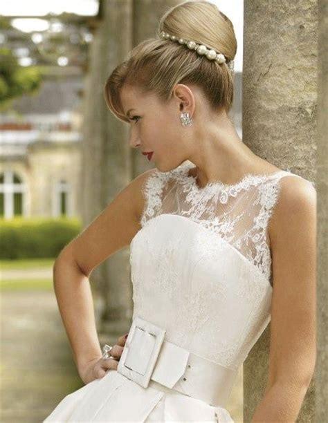 acconciatura sposa chignon con perle altre immagini di acconciature sposa http www