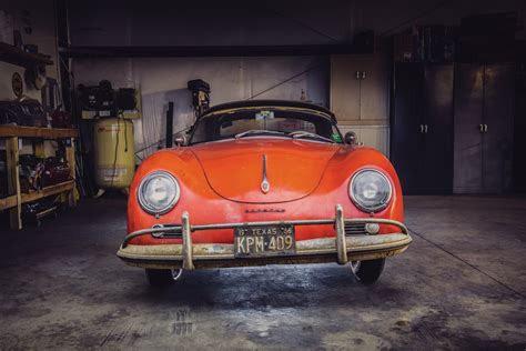 barn find  porsche  speedster