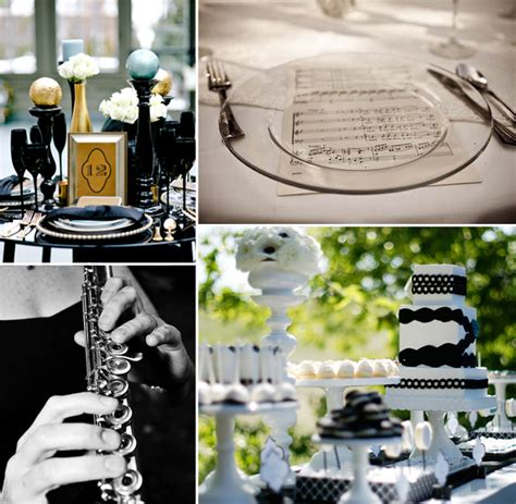 Your Love In Perfect Harmony—a Music Theme Wedding! Kate