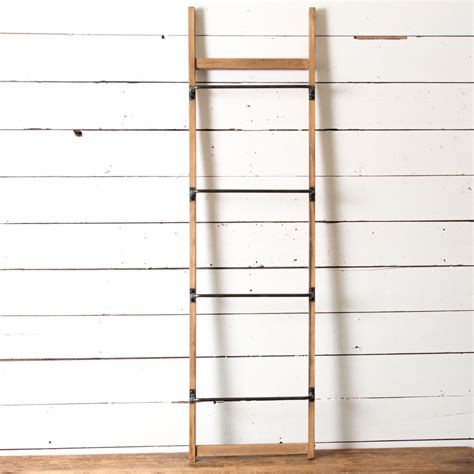 Metal and Wood Wall Ladder   Magnolia Market   Chip & Joanna Gaines