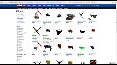 roblox  items bctbcobc items  nbc youtube