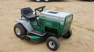 Montgomery Ward Riding Lawn Mower With 42 U0026quot  Deck