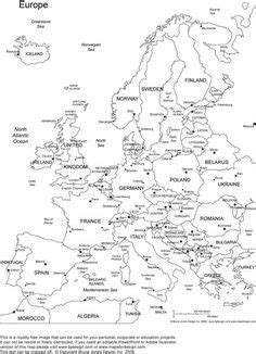 continents map elementary printable continents map