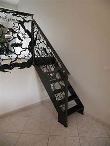 Garde Corp Escalier : garde corps escalier asiatique escalier montpellier ~ Dallasstarsshop.com Idées de Décoration