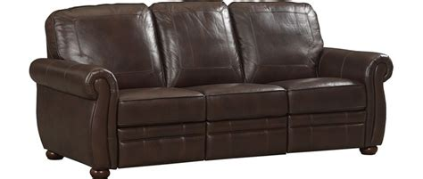 havertys leather sleeper sofa living room furniture fletcher reclining sofa living