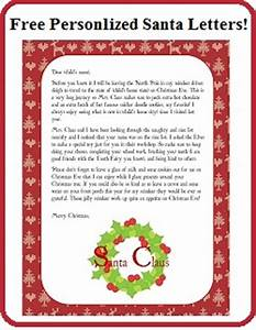 free personalized printable santa letters enchanted With custom letters from santa free