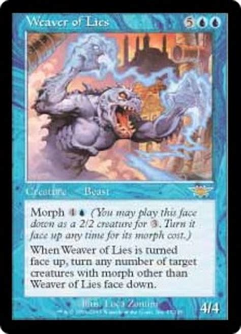 mtg morph deck blue green morph morph back and forth magic the gathering