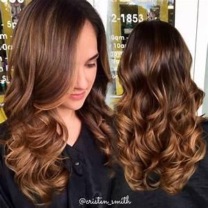 Ombré Hair Marron Caramel : caramel honey highlights hair in 2019 hair balayage ~ Farleysfitness.com Idées de Décoration