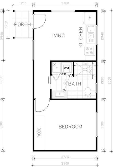 granny flat floorplan gallery   bedroom floorplans