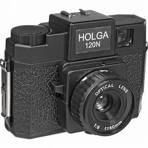 Holga 120N Medium Format Film Camera Black 144120 BH Photo
