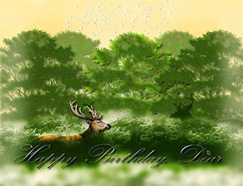 dear deer birthday  birthday   ecards greeting
