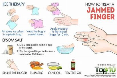 Jammed Finger Treat Treatment Joint Top10homeremedies Remedies