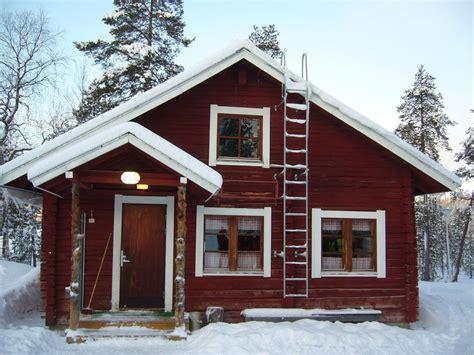 la laponie janvier 2008 une maison finlandaise