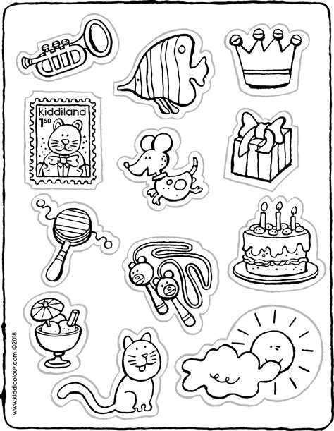 stickers kiddicolour