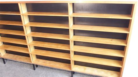 Wood Veneered Shelving Unit 1950s For Sale At Pamono