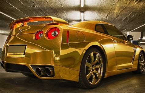In Pictures Ostentatious Gold Chrome Luxury Sports Cars