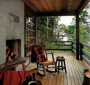 schoner garten und toller balkon gestalten ideen und With französischer balkon mit gemauerter kamin garten