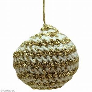 Boule De Noel A Fabriquer : fabriquer des boules de noel au crochet id es et ~ Nature-et-papiers.com Idées de Décoration