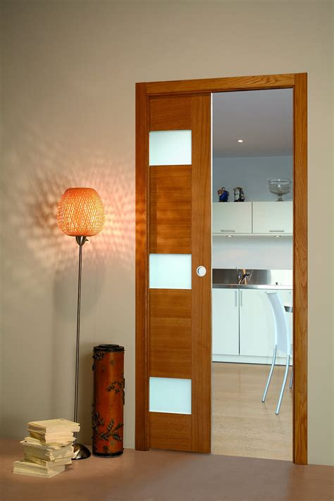 porte cuisine chene porte coulissante chene vitree flat porte et bloc porte
