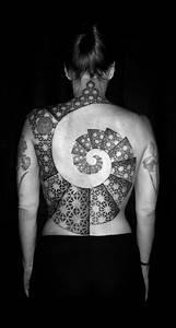 35+ Fibonacci Spiral Tattoos