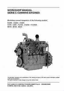 Cummins C Series Engines Workshop Manual Pdf