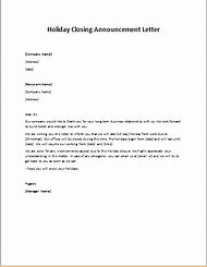 Best 25 ideas about holiday letter find what youll love holiday business closing letter sample spiritdancerdesigns Gallery