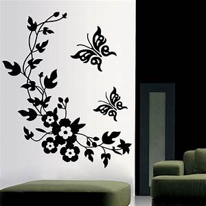 free shipping removable vinyl 3d wall sticker mural decal With wall murals decals