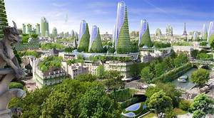 paris smart city 2050 by vincent callebaut architectures With beautiful maquette d une maison 6 avenirs foto ville